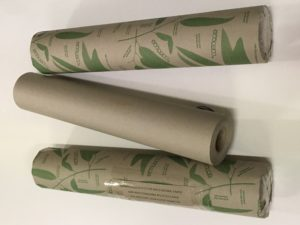 Banner Printer Rolls Brown Paper Recycled