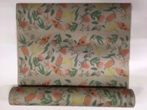 Gift wrap Australian native floral